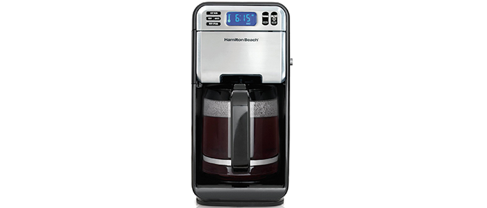 another great offering by coffee maker hamilton beach but at a lower price the features that make up the digital coffee maker add up to an easy espresso